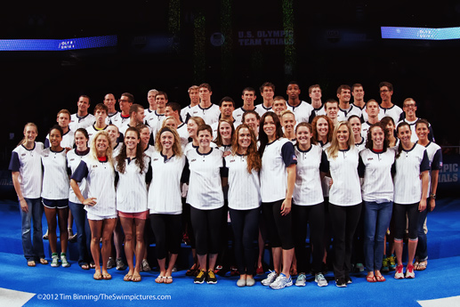 2012 USA Olympic Team Swimming