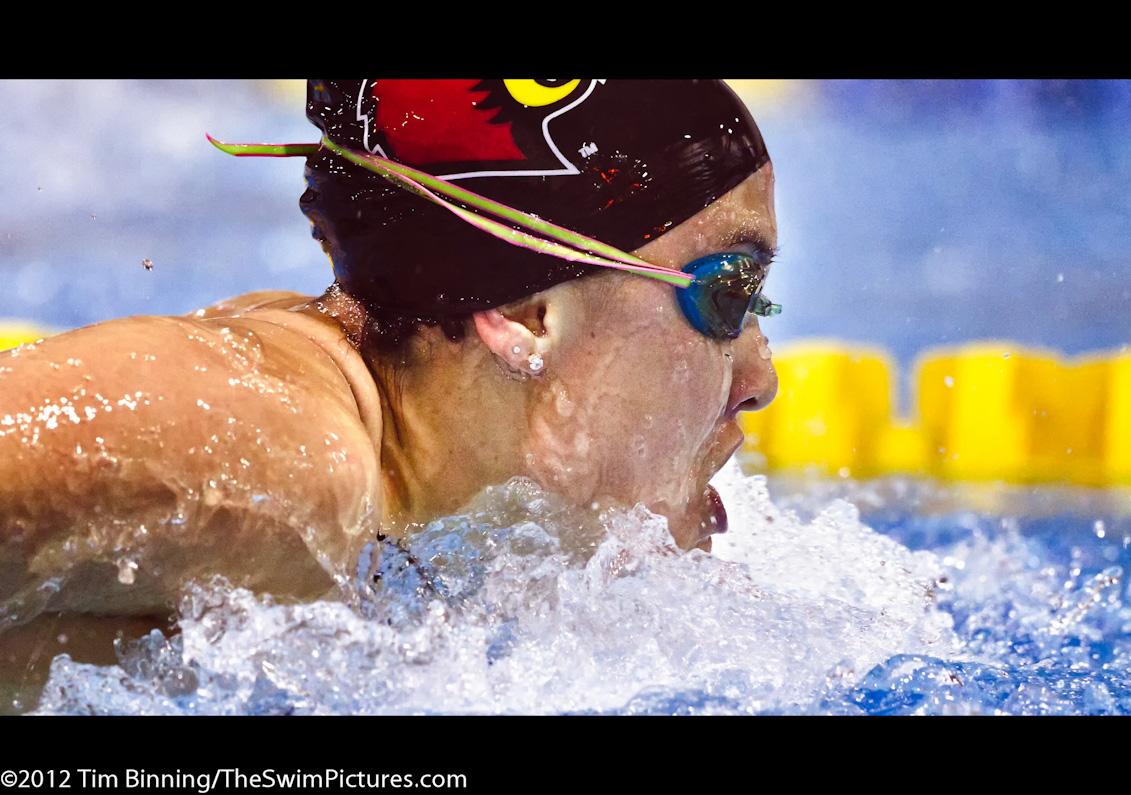 Abby Chin Swimming