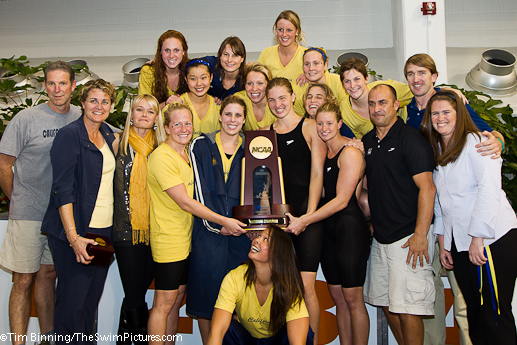 Cal Women win the 2011 NCCA Swimming and Diving Championsnhips