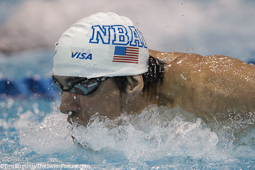 Michael Phelps wins 100 fly at 2010 Charlotte UltraSwim