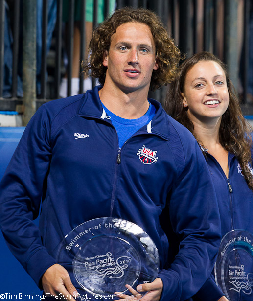 Ryan Lochte and Rebecca Soni
