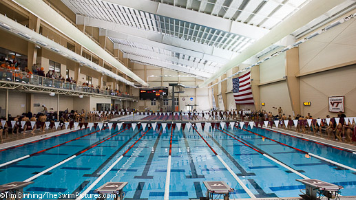 Christiansburg Aquatic Center new home of the Virginia Tech Swimming and Diving Team