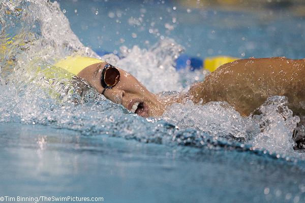 Chloe Sutton wins 800 free at the 2010 Charlotte UltraSwim
